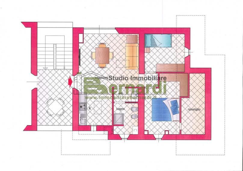AP457 - Appartamento mansardato