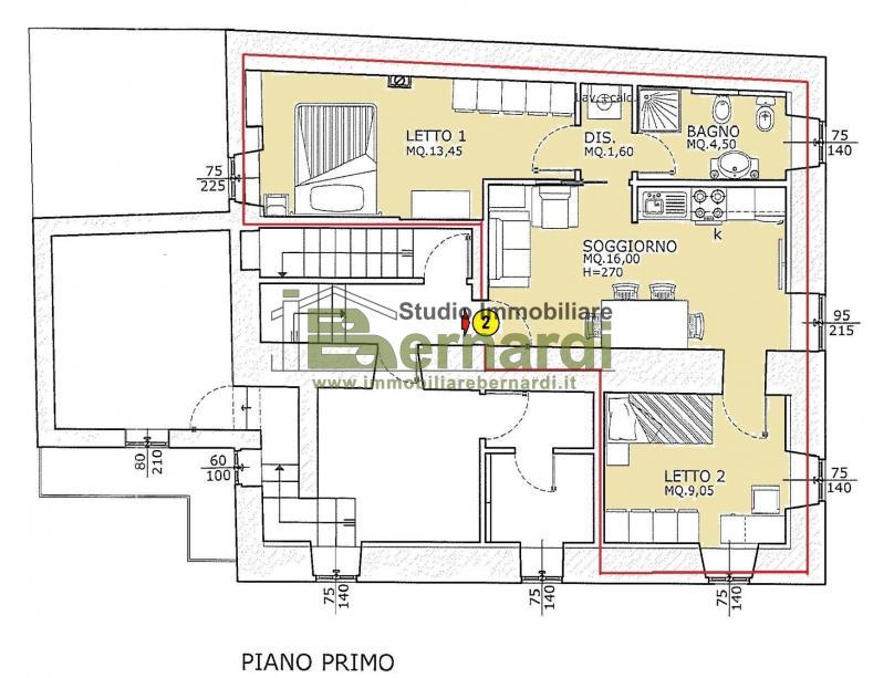 AF227G - Appartamento nuovo in centro