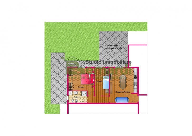 AP492 - Appartamento con giardino