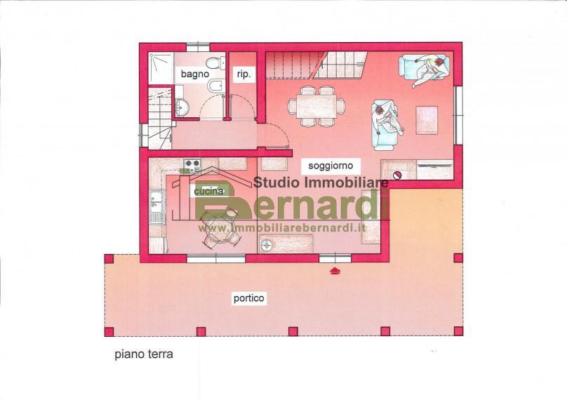 VI415 - Villa con giardino a Lotta